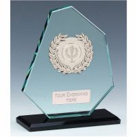 Mountain Jade Glass Award 6.75 Inch (17cm) - 10mm Thickness : New 2020