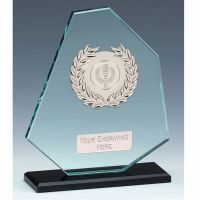Mountain Jade Glass Award 7.5 Inch (19cm) - 10mm Thickness : New 2020