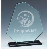 Mountain Jade Glass Award 8.25 Inch (21cm) - 10mm thickness : New 2020