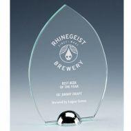 Gravity Peak Jade Glass Award 5.5 Inch (14cm) : New 2020