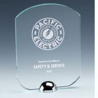 Gravity Standard Jade Glass Award 6.25 Inch (16cm) : New 2020