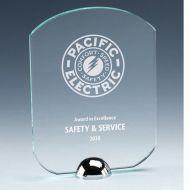 Gravity Standard Jade Glass Award 7 1/8 Inch (18cm) : New 2020