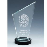 Stage Ridge Jade Glass Award 8 Inch (20cm) : New 2020