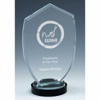 Stage Apex Jade Glass Award 9.5 Inch (24cm) : New 2020