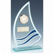 Sail Glass Award 8 1/8 Inch (20.5cm) : New 2020