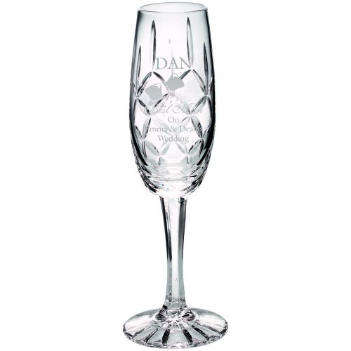 140ml Classic Champagne Flute Blank Panel 8in