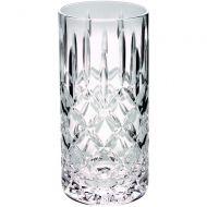 405ml Highball Glass Tumbler Fully Cut 6in
