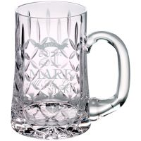 Glass Tankard 610ml Blank Panel 5.5in