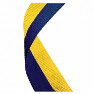 Medal Ribbon Blue and Yellow