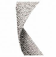 Glitter Ribbon Silver 7/8 X 32 Inch