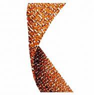 Glitter Ribbon Bronze 7/8 X 32 Inch