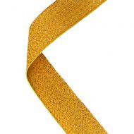 Medal Ribbon Gold 30 X 0.875in