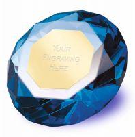 Clarity Blue Diamond100 3 7 8 Inch H (10cm H) - New 2019
