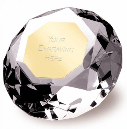 Clarity Diamond100 3 7 8 Inch H (10cm H) - New 2019