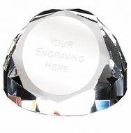 Diamond Dome65 PaperWeight 2.75 Inch (7cm) Diameter : New 2019