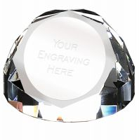 Diamond Dome65 Paperweight 2.75 Inch (7cm) Diameter - New 2019