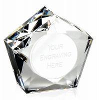 Diamond Star75 Paperweight 3 Inch (7.5cm) - New 2019