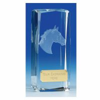 Clarity4 Crystal Horse Clear 4 1/2 Inch