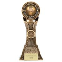 Genesis Managers Player Football Trophy Award New 2019