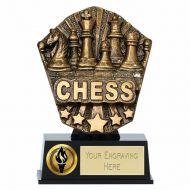 Cosmos Mini Chess 4 7 8 Inch ( 12.5cm) - New 2019