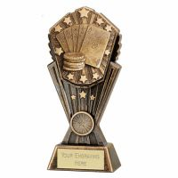 Cosmos Poker Trophy Award 8 Inch (20cm) : New 2020