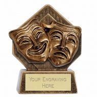 Pocket Peak Drama Trophy Award 3.25 Inch (8cm) : New 2020