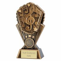 Cosmos Music Trophy Award 7 inch (17.5cm) : New 2020