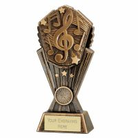 Cosmos Music Trophy Award 8 Inch (20cm) : New 2020