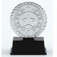 Vibe Super Mini Silver Trophy Award 3 3/8 Inch (8.5cm) : New 2020