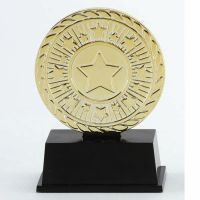Vibe Super Mini Gold Trophy Award 3 3/8 Inch (8.5cm) : New 2020