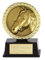 Vibe Super Mini Horse Trophy Award 3 3/8 Inch (8.5cm) : New 2020