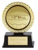 Vibe Super Mini Netball Trophy Award 3 3/8 Inch (8.5cm) : New 2020