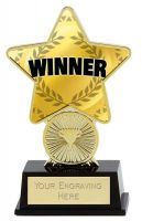 Winner Trophy Award Superstar Mini Gold 4.25 Inch (10.5cm) : New 2020