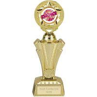 PROJECT X Trophy - Gold - 9.75 inch (24.5cm) - New 2018