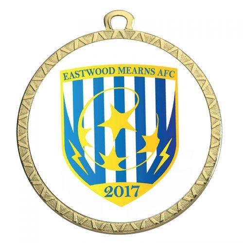 Circular50 Sub Medal and Print - Gold - 50mm Diameter- New 2018
