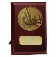 Vision Darts Trophy Award Presentation Plaque Trophy Award 4 Inch (10cm) : New 2020