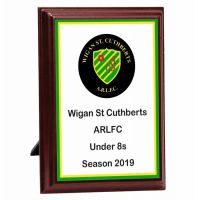 Bespoke Prize Presentation Plaque Trophy Award 4 Inch (10cm) : New 2020