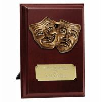 Peak Drama Trophy Award Presentation Plaque Trophy Award 5 Inch (12.5cm) : New 2020