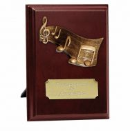 Peak Music Trophy Award Presentation Plaque Trophy Award 5 Inch (12.5cm) : New 2020