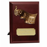 Peak Music Trophy Award Presentation Plaque Trophy Award 5 Inch (12.5cm) : New 2020