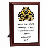 Bespoke Prize Presentation Plaque Trophy Award 5 Inch (12.5cm) : New 2020
