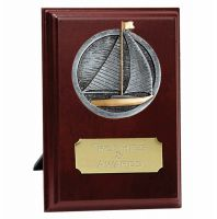 Peak Sailing Trophy Award Presentation Plaque Trophy Award 6 inch (15cm) : New 2020