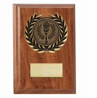 Wessex Walnut Plaque 4 Inch (10cm) - New 2019