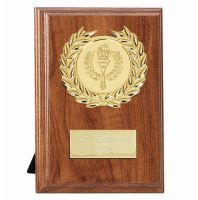 Wessex Walnut Target Plaque - Walnut Gold - 4 Inch (10cm)- New 2018