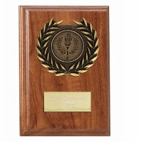 Wessex Walnut Plaque 5 Inch (12.5cm) - New 2019