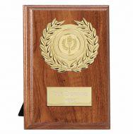 Wessex Walnut Target Plaque - Walnut Gold - 6 Inch (15cm)- New 2018