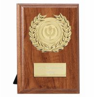 Wessex Walnut Target Plaque - Walnut Gold - 6 Inch (15cm)- New 2018